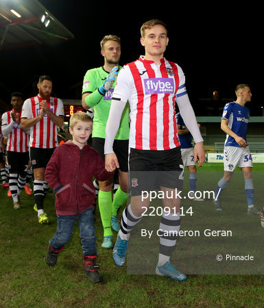Exeter City v Oldham Athletic, Exeter, UK - 11 Feb 2019