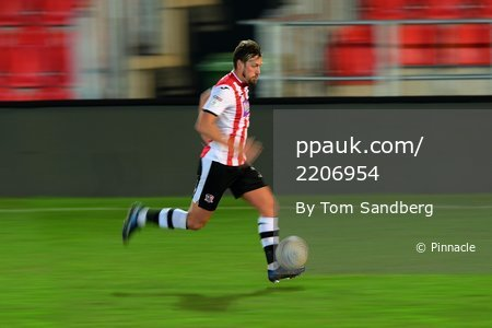 Exeter City u23 v Portsmouth u23, Exeter, UK - 4 Feb 2020