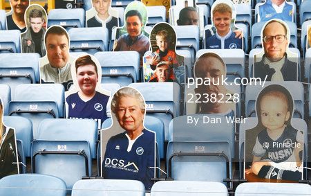 Millwall v Middlesbrough, London - 08 July 2020