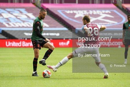 West Ham United v Aston Villa, London, UK -  26 Jul 2020.