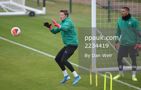 Crystal Palace Training, Beckenham - 11 June 2020