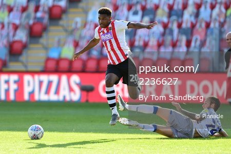 Exeter City v Colchester United, Exeter - 22 Jun 2020