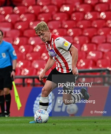 Exeter City v Northampton Town, London - 29 Jun 2020
