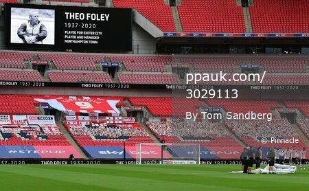 Exeter City v Northampton Town, London - 29 Jun 2020