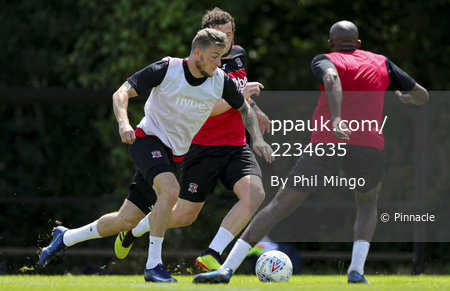 Exeter City Training, Exeter, UK - 13 Jun 2020