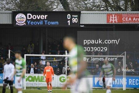 Dover Athletic v Yeovil Town, Kent, UK - 7 Mar 2020.