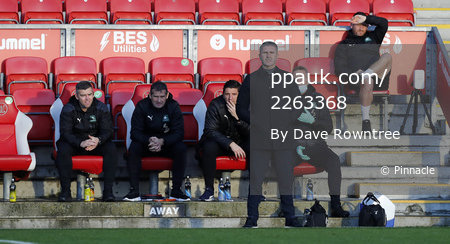 Fleetwood Town v Plymouth Argyle, Fleetwood, UK - 21 Nov 2020
