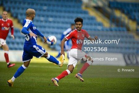 Gillingham v Charlton Athletic, Kent, UK - 21 Nov 2020.