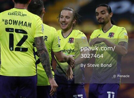 Bradford City  v Exeter City, Bradford, UK - 14 Nov 2020