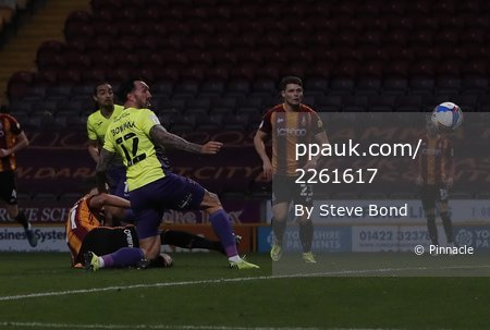 Bradford City  v Exeter City, Bradford, UK - 14 Nov 2020