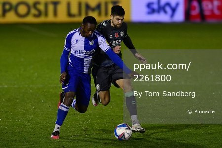 Bristol Rovers v Fleetwood Town, Bristol, UK - 14 Nov 2020