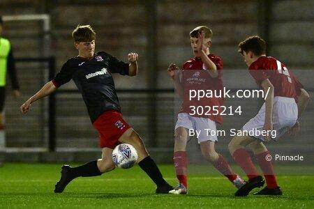 Exeter City u16s v Crewe Alexandra u16s, Exeter, UK - 18 Nov 2020