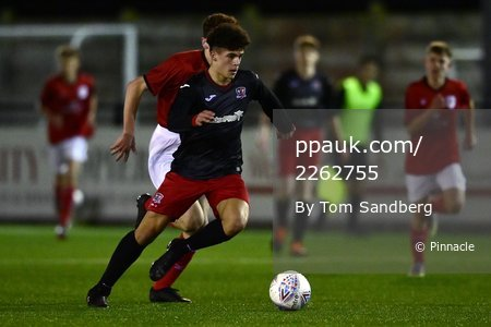 Exeter City u16s v Crewe Alexandra u16s, Exeter, UK - 18 Nov 2020
