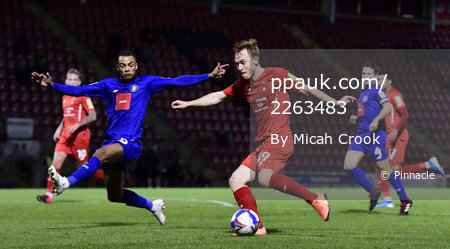 Leyton Orient v Harrogate Town, London, UK - 21 Nov 2020