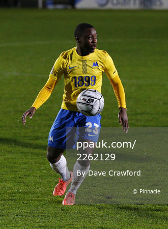 Torquay United v Boreham Wood, Torquay, UK - 14 Nov 2020