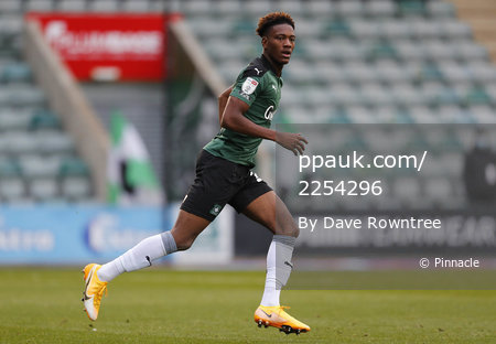 Plymouth Argyle v Northampton Town, Plymouth, UK - 17 Oct 2020