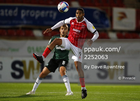 Cheltenham Town v Plymouth Argyle, Cheltenham, UK - 06 Oct 2020