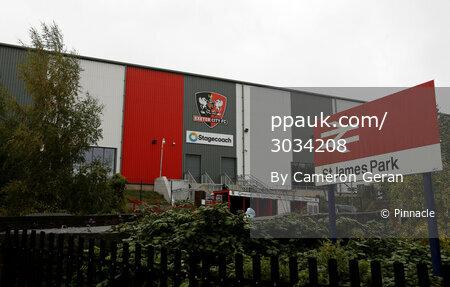 Exeter City v Scunthorpe United, Exeter, UK - 24 Oct 2020