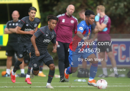 Crystal Palace U23 v Brentford B, Beckenham - 08 September 2020
