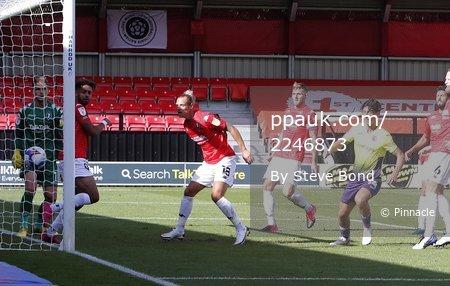 Salford City v Exeter City, Salford, UK - 12  Sep 2020