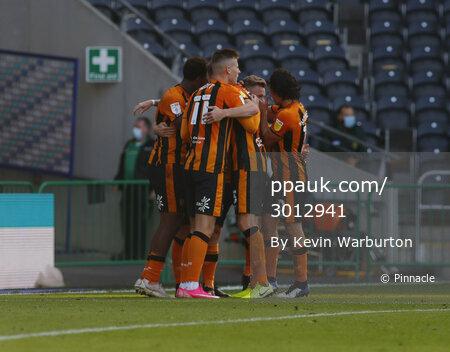 Hull City and Crewe Alexandra, Hull, UK - 19 Sept 2020