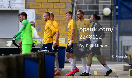 Torquay United v Bournemouth U23, Torquay, UK - 15 Sept 2020