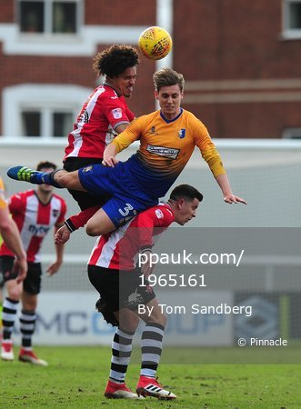 Exeter City v Mansfield Town, Exeter, UK - 17 Feb 2018