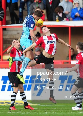 Exeter City v Wycombe Wanderers, Exeter, UK -10 Feb 2018