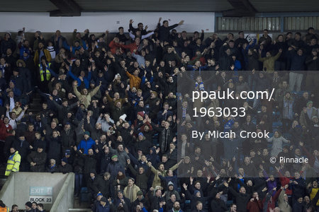 Millwall v Cardiff City, London, UK - 9 Nov 2018