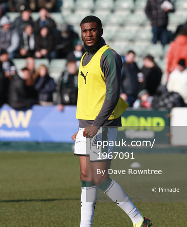 Plymouth Argyle v Bradford City, Plymouth, UK - 24 Feb 2018