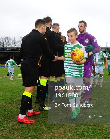 Yeovil Town v Cambridge United, Yeovil, UK - 03 Feb 2018