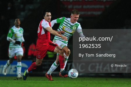 Yeovil Town v Fleetwood Town, Yeovil, UK - 6 Feb 2018