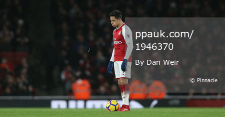Arsenal v Chelsea, London, UK - 3 Jan 2018