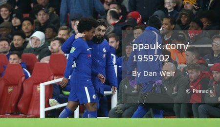 Arsenal v Chelsea, London, UK - 24 Jan 2018