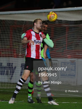 Exeter City v Forest Green, Exeter, UK - 31 Jan 2018