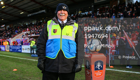 Exeter City v West Bromwich Albion, Exeter, UK - 6 Dec 2018