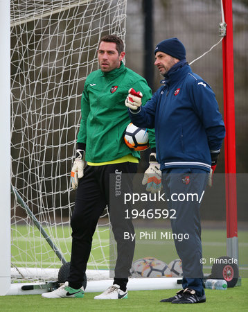 Exeter City Training, Exeter, UK - 4 Jan 2018