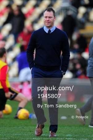 Newport County v Exeter City, Newport, UK - 1 Jan 2018