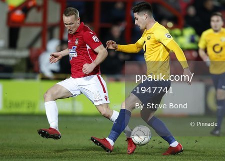 Wrexham v Torquay United, Wrexham, UK - 06 Jan 2018