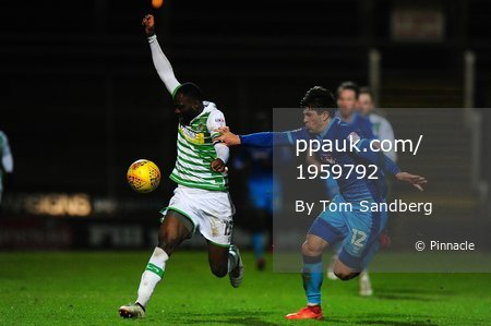 Yeovil Town v Grimsby Town, Yeovil, UK - 30 Jan 2018
