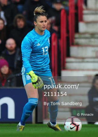 England Women v Spain Women, Swindon, UK - 09 Apr 2019