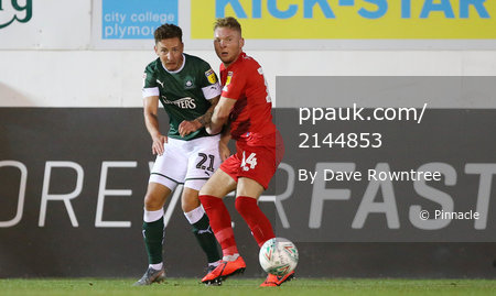 Plymouth Argyle v Leyton Orient, Plymouth, UK - 13 Aug 2019
