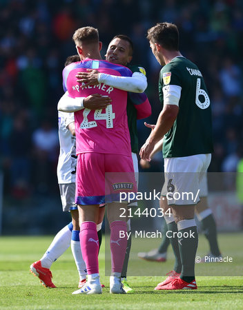 Plymouth Argyle v Colchester United, Plymouth, UK - 10 Aug 2019