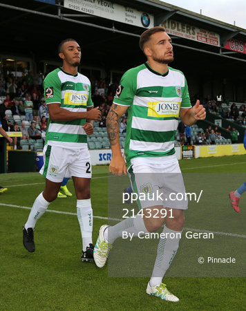 Yeovil Town v Eastleigh, Yeovil, UK - 6 Aug 2019