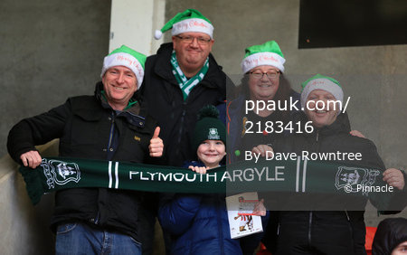 Cheltenham Town v Plymouth Argyle, Cheltenham, UK - 26 Dec 2019