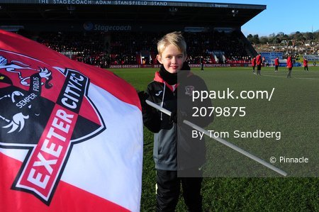 Exeter City v MK Dons, Exeter, UK - 2 Feb 2019