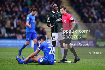 Plymouth Argyle v Portsmouth, Plymouth, UK - 9 Feb 2019
