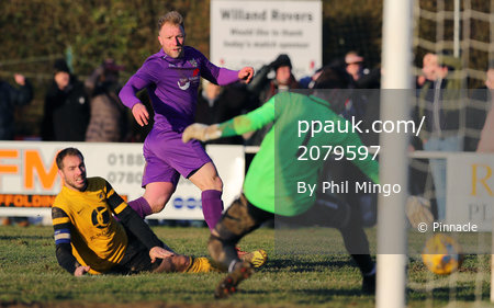 Willand Rovers v Deeping Rangers, Willand, UK - 2 Feb 2019