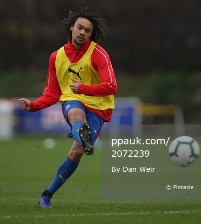 Crystal Palace U23s v Cardiff City U23s, Beckenham - 07 January