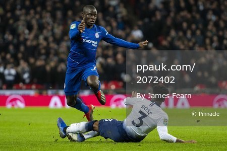 Tottenham Hotspur V Chelsea, London, UK - 8 Jan 2019.